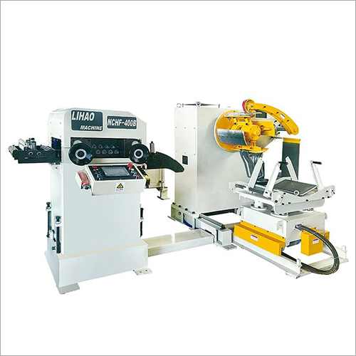 NCHF Type Straightener Feeder And Uncoiler 3 In 1 Machine For Sheet Machine