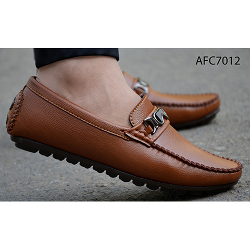 Mens Designer Brown Loafers