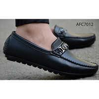 Mens Designer Z Black Loafers