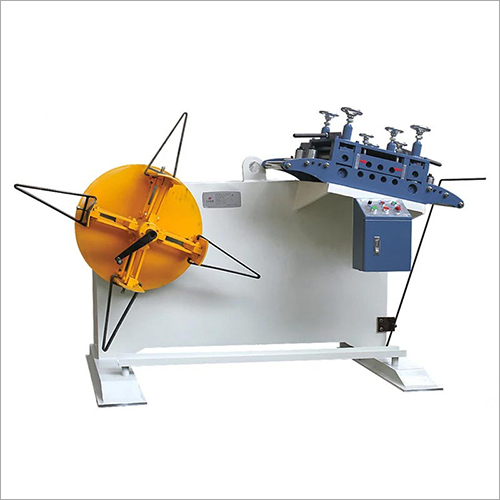 GO Type Straightener Cum Decoiler For Sheet Machine