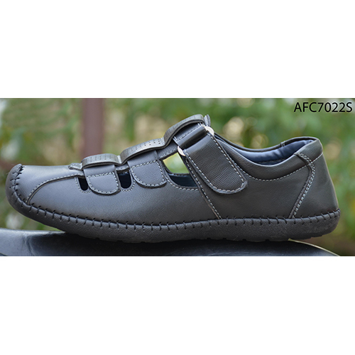 Mens Off Black Sandals