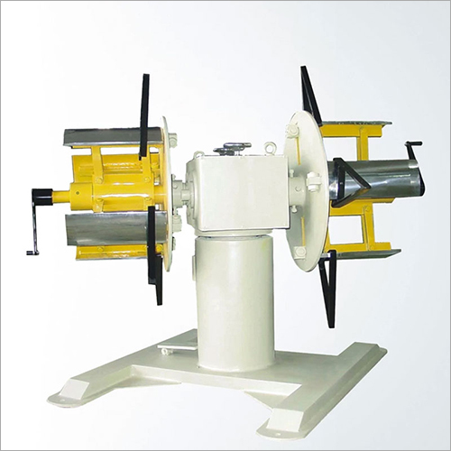 Double Ends Decoiler Machine Material Recoiling Equipment