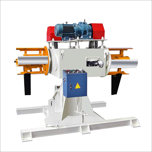 Double Heads Uncoiler Machine Metal Sheet Decoiler Electrical Machine