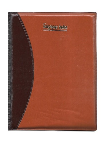 Nescafe Size, Telephone Diary, Foam Folder (128 Pages)