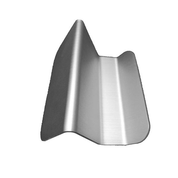 Blank Aluminum business card