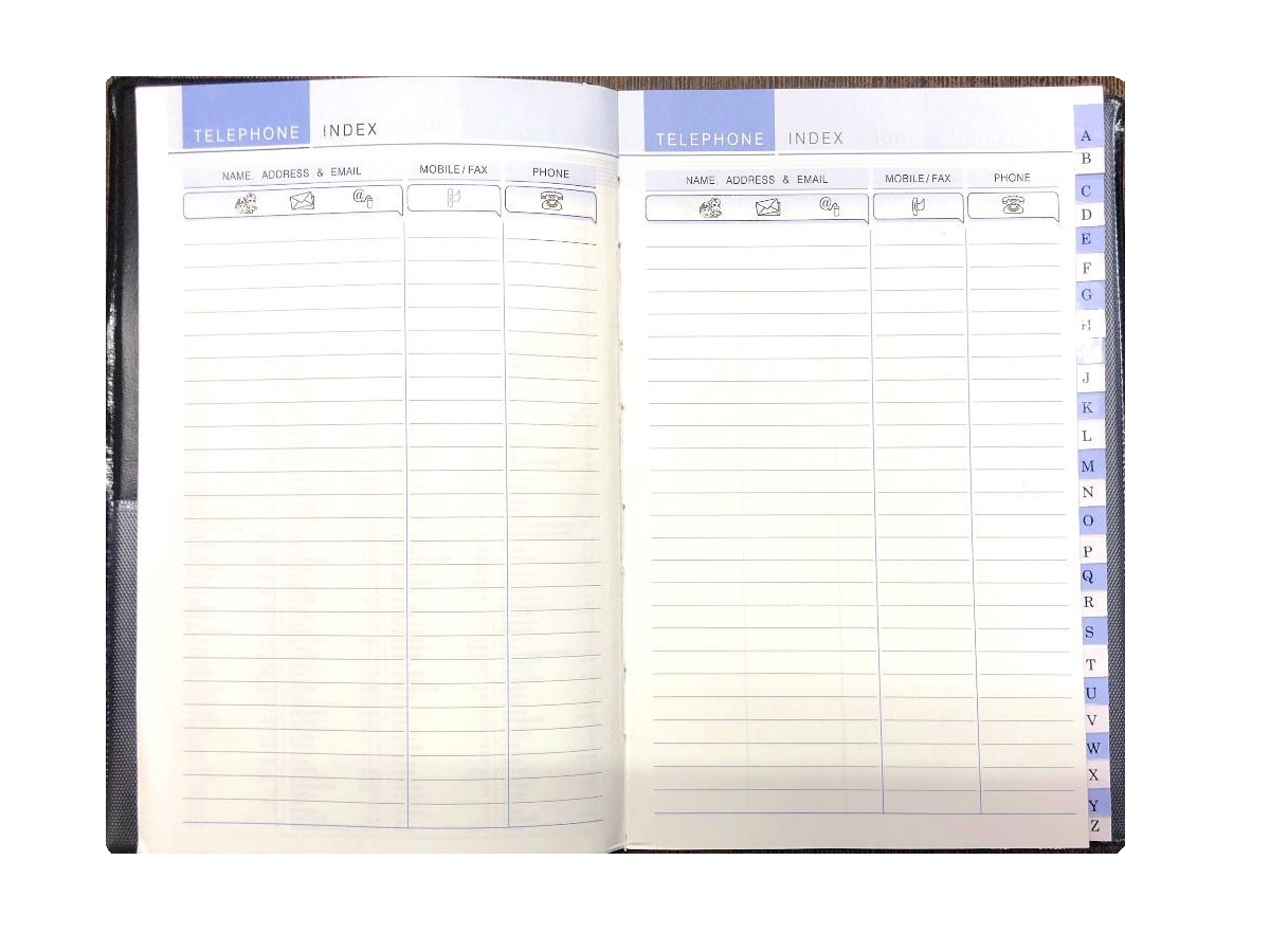 Chief Size, Address Book, Hard Binding (128 Pages)