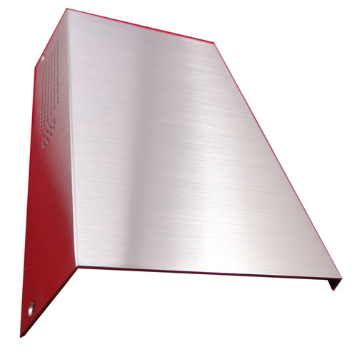 Brush stainless steel bending cover