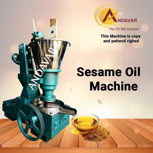 K SERIES SS Sesame Oil Machine
