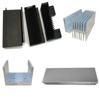 Heatsink Aluminum Profiles Aluminum Alloy Extrusion Profile