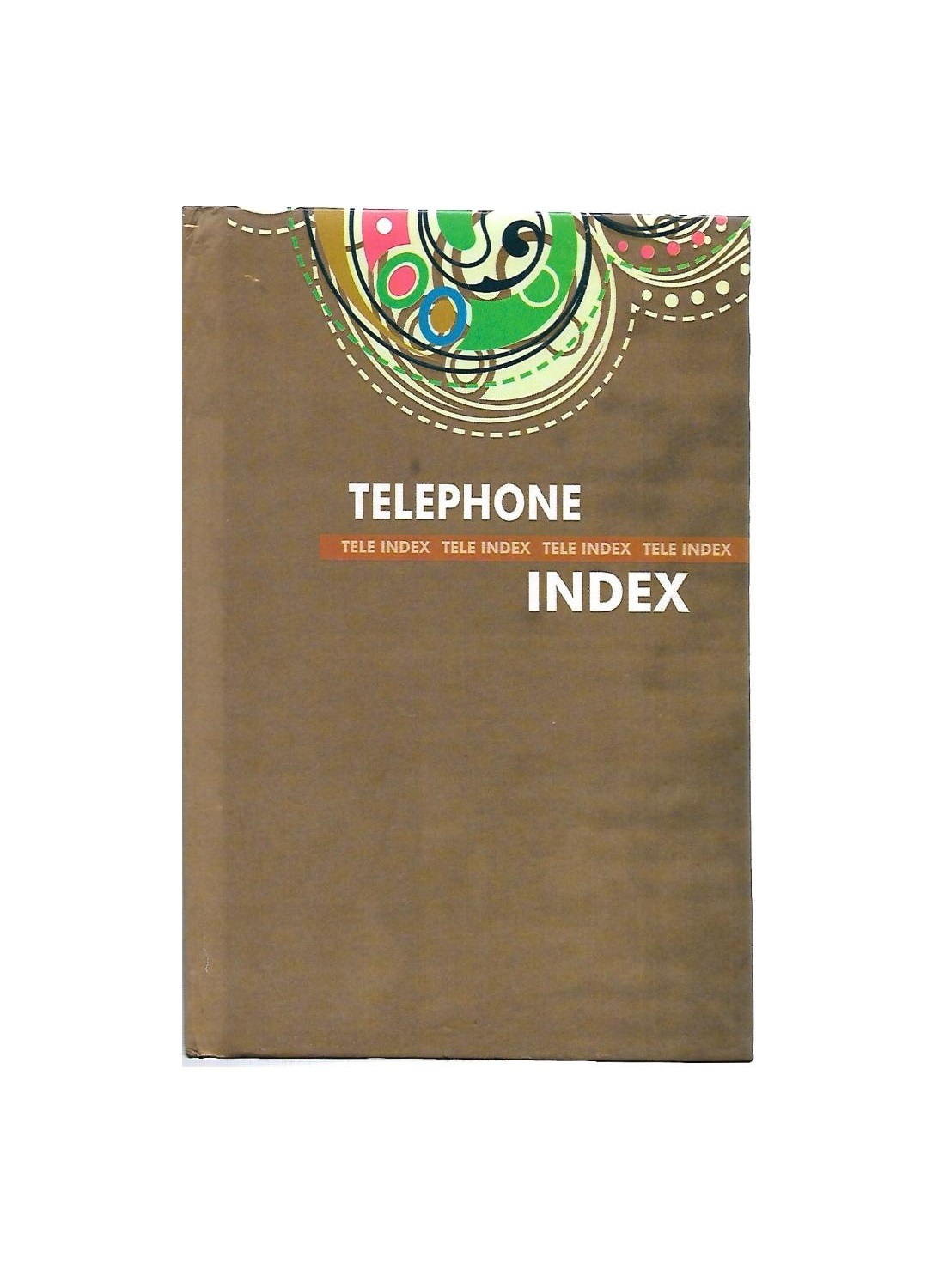 Table Size, Contacts Book, Hard Binding (192 Pages)