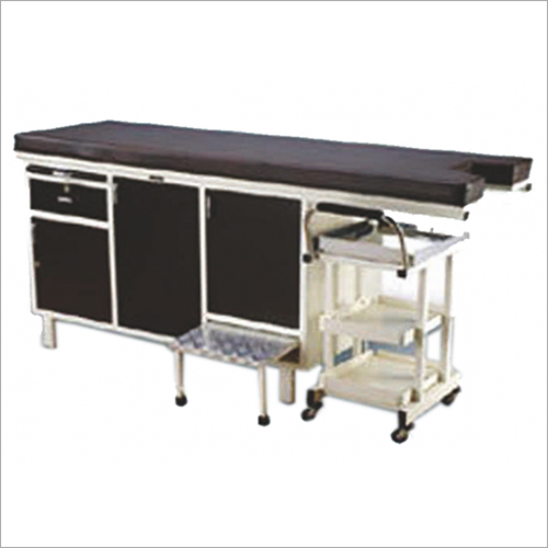 Gynae Examination Table Couch with Cabinet