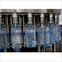 Automatic mineral bottling water plant