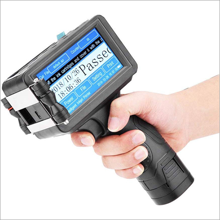 Hand Held Batch Coding Machine