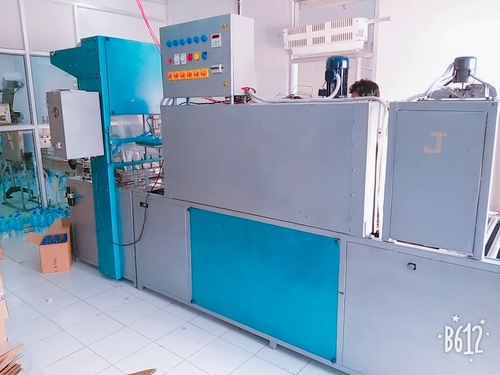 Semi heat shrink packing machine