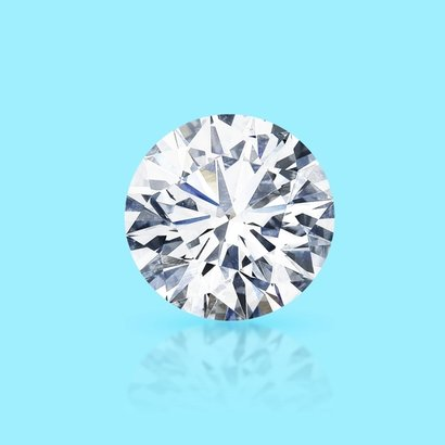 Cvd Diamond 1.51Ct G Vvs2 Round Brilliant Cut Igi Certified Stone Diamond Clarity: Ws2