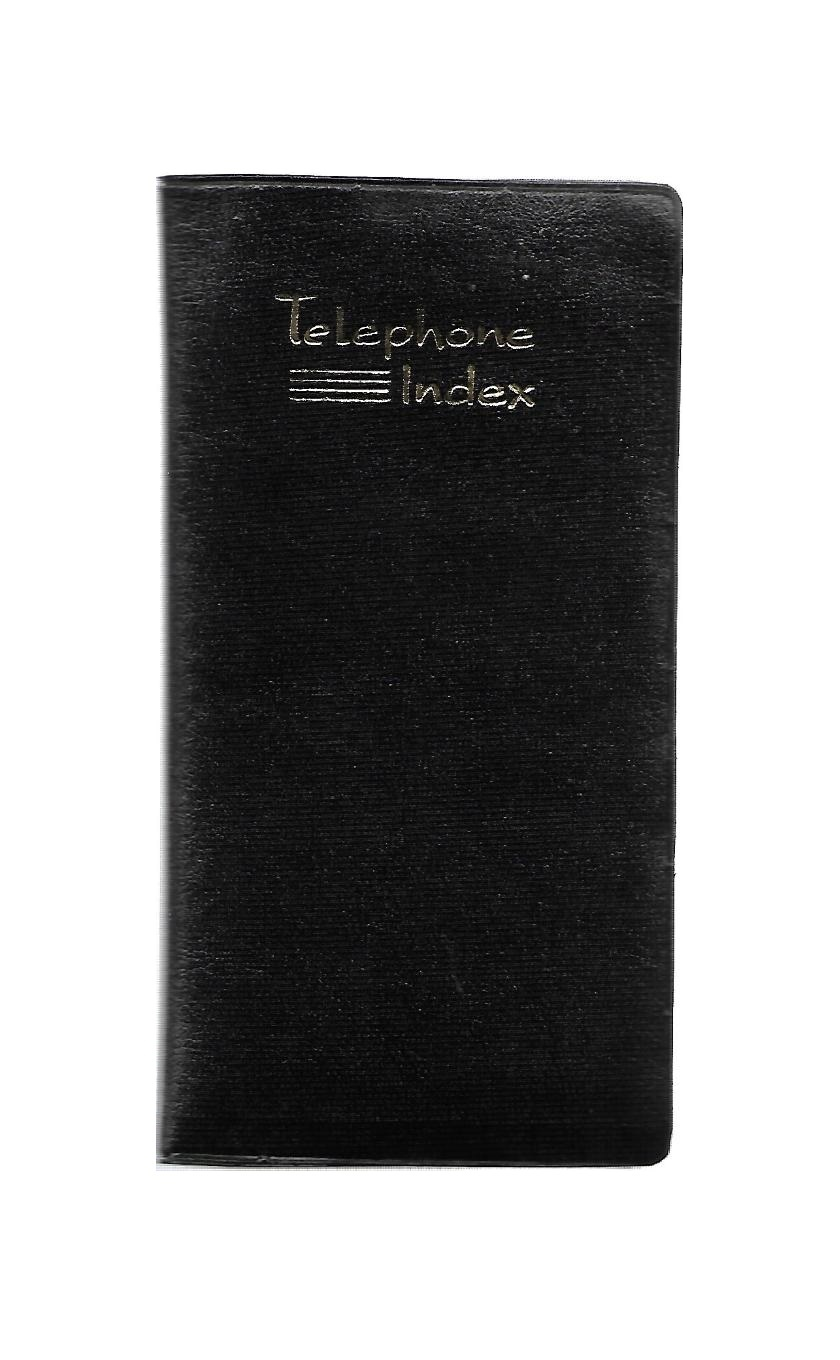 Personal Size, Telephone Index, Special Foam Folder (96 Pages)