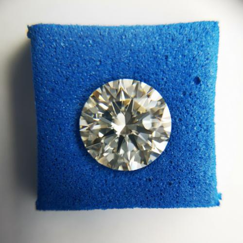 CVD Diamond 1.22ct M VVS2 Round Brilliant Cut IGI Certified Stone