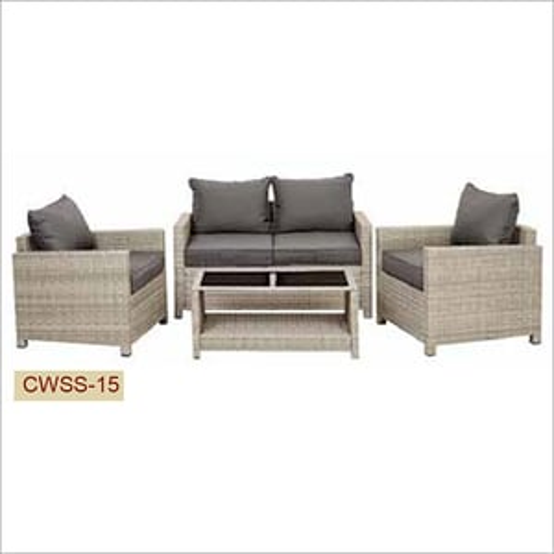 Five Seater Wicker Sofa Set