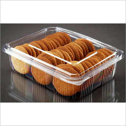 Cookies Plastic Packaging Box