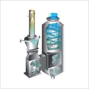 Air Pollution Machine Wet Scrubber