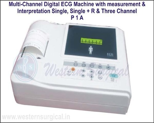 Multi-Channel Digital ECG Machine
