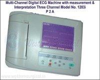 Multi-Channel Digital ECG Machine