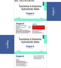 DROTAVERINE+ACECLOFENAC TAB