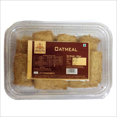 Oatmeal Biscuits Packaging: Box