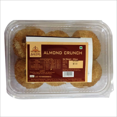 Almond Crunch Biscuits