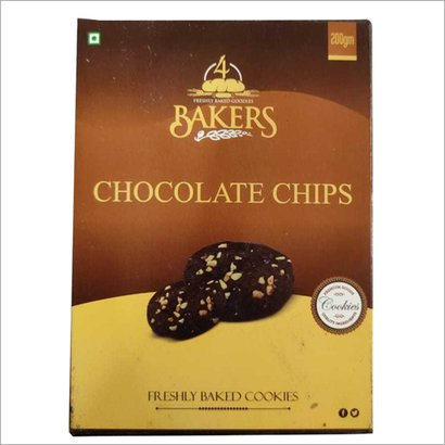 200 Gm Chocolate Chips Cookies Packaging: Family Pack