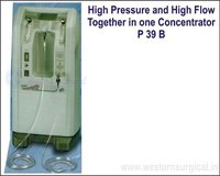 High Pressure and High Flow Together in one Concentrator