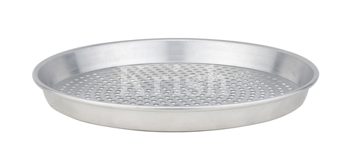 Al. Pizza Pan-Taper With Holes