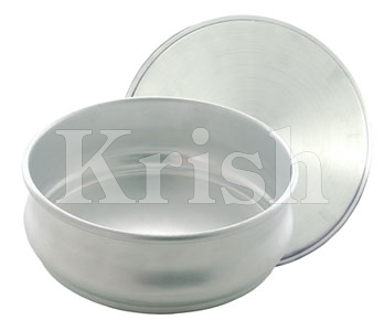 Al. Dough Pan with cover