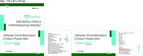 FOLIC ACID +DHA+METHYLCOBALMIN