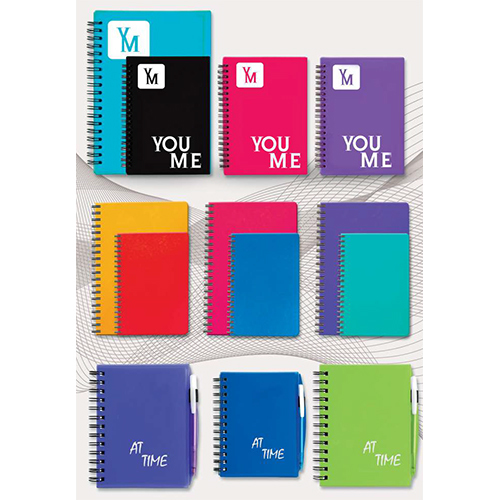 Wiro Notebook With PP Cover