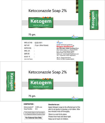 KETOCONAZOLE WITH ZPTO SOAP