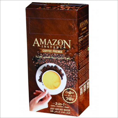 Amazon Instant Coffee Premix 10 Single Serve Sachets 200gm (20 gm X 10 Sachet)