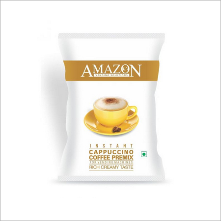 Amazon Instant Cappuccino Coffee Premix Rich Creamy Taste (1 Kg Vending Pack)