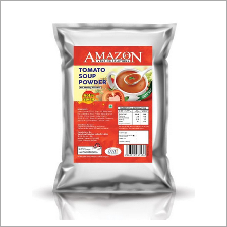 Amazon Hot & Spicy Tomato Soup 1 Kg Pack For Vending Machines