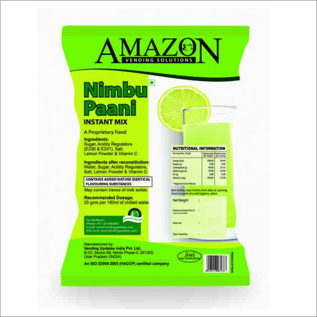 Amazon Nimbu Paani Premix