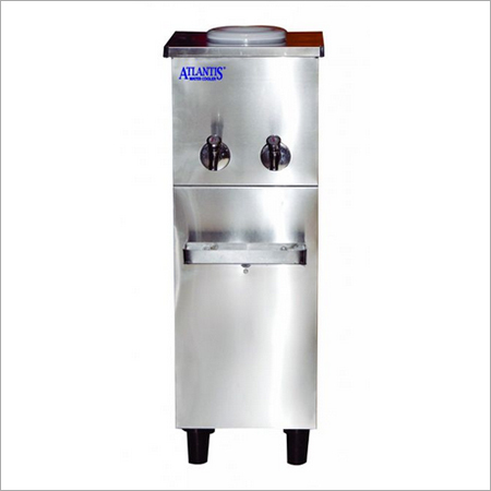Atlantis Stainless Steel Water Cooler with 10 L Cooling, 20 L Storage