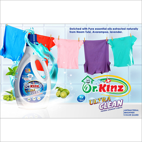 Ultra Clean Power Laundry Liquid