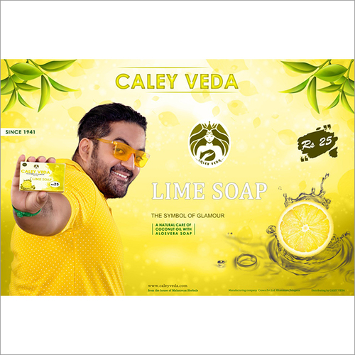 Caley Veda Lime Soap