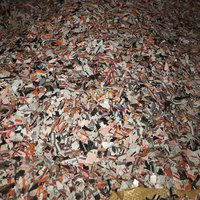 PVC scrap combine load Japan origin PVC post industrial plastic scrap