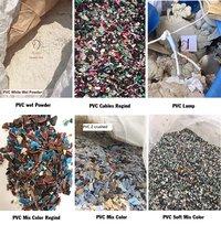 PVC scrap combine load Japan origin PVC post industrial plastic scrap