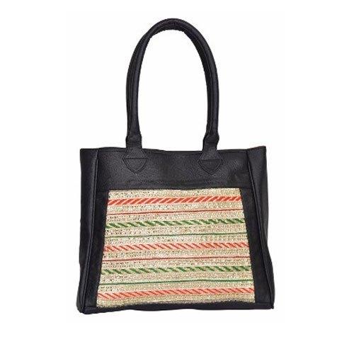 Azzra Black Ethnic Hand Bag