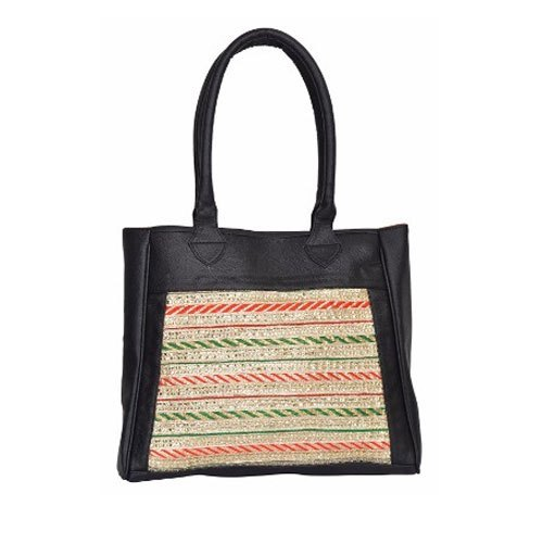 Azzra Black Ethnic Hand Bag