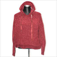 Ladies Woolen Hoodies