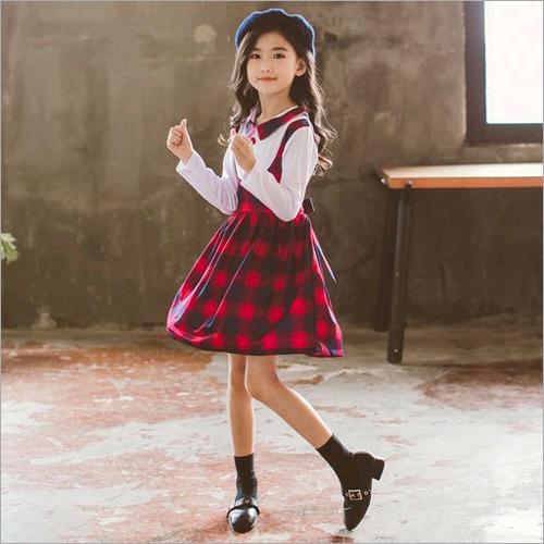 Girls Casual Wear Dress