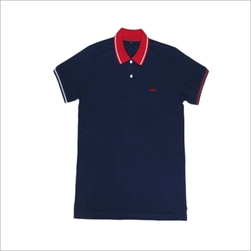 Cotton Combed Collar T-Shirt